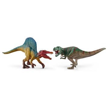 Spinosaurus & Tyrannosaurus (Small)