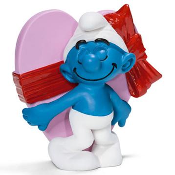 Valentine's Day Smurf