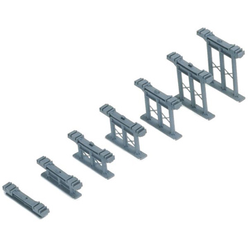 Set 7 Inclined Piers- R658
