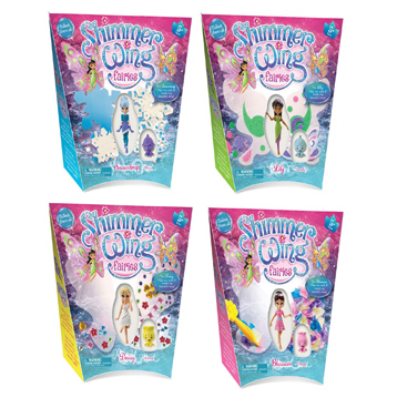 Shimmer Wings Fairies Single Pack Assorted