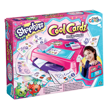 Shopkins Cool Cardz Design Studio