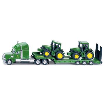Low Loader With John Deere Tractors