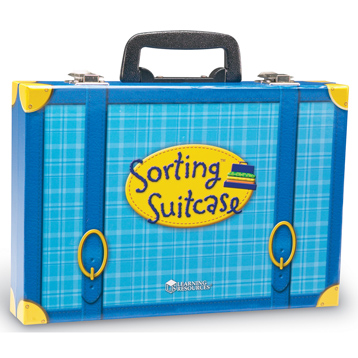 Sorting Suitcase Activity Set
