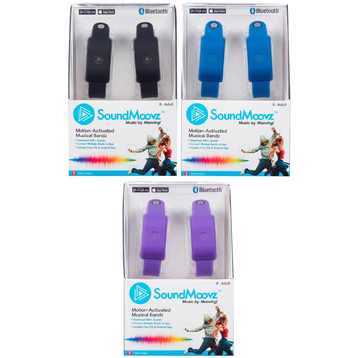 SoundMoovz Bluetooth Wristbands
