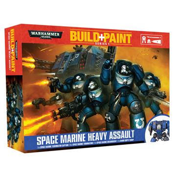 Space Marine Heavy Assault
