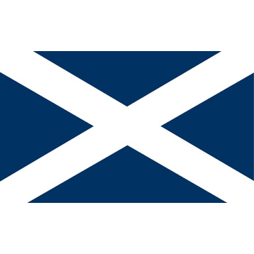 St Andrews Cross Flag