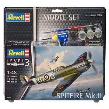 Spitfire Mk. II Model Set