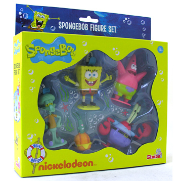 Spongebob 5 Figure Pack
