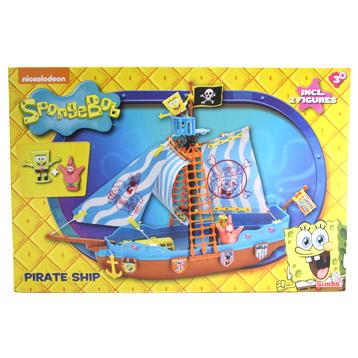 Spongebob Pirate Boat Playset