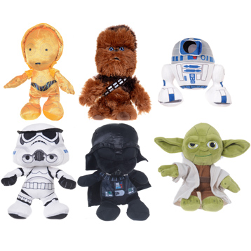 Assorted Small Plush Characters