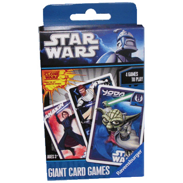 Star Wars Clone Wars Giant Card Game