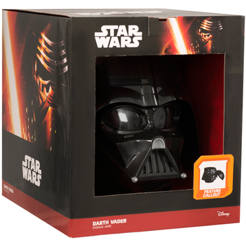 Darth Vader Storage Head