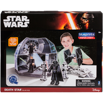 Blueprints Paper Craft Death Star Deluxe Pack