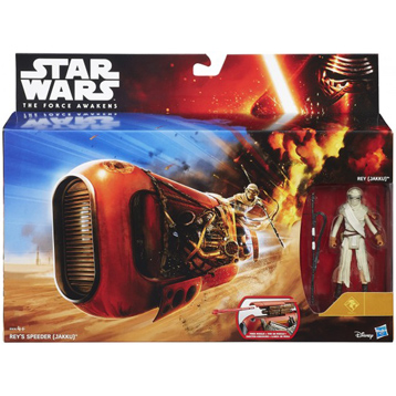 """The Force Awakens 3.75"""" Action Figure & Vehicle"""