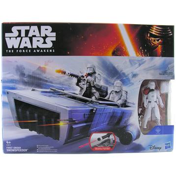 The Force Awakens Vehicle & 3.75 Inch Figure