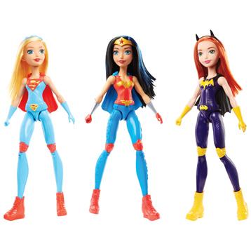 Super Hero Girls Training Dolls Assorted