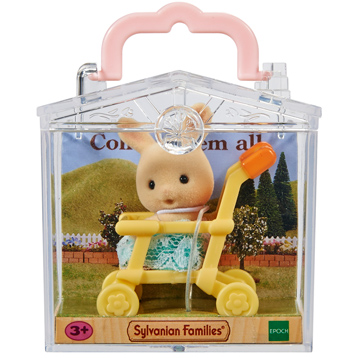 Baby Carry Case Milk Rabbit on Pushchair
