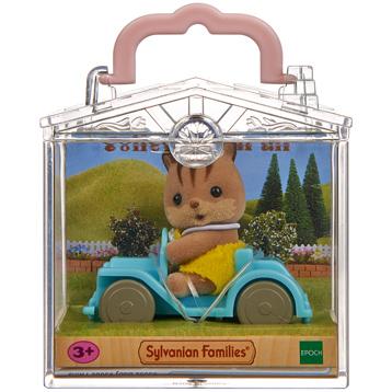 Baby Carry Case Walnut Squirrel on Car