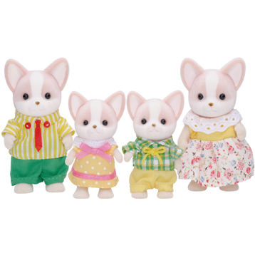 Chihuahua Dog Family Figures