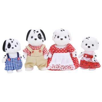 Dalmatian Family Figures