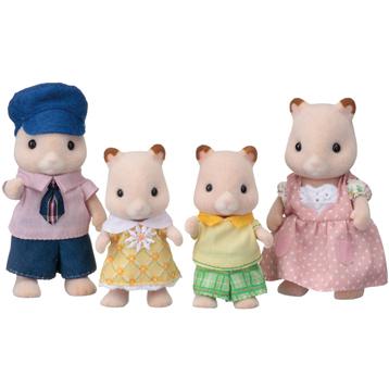 Hamster Family Figures