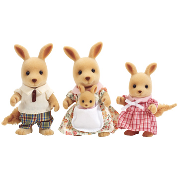 Kangaroo Family Figures