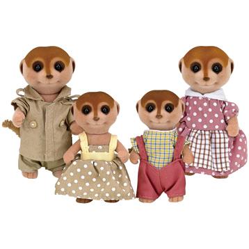 Meerkat Family Figures