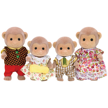 Monkey Family Figures