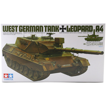 German Leopard A4 Tank (Scale 1:35)