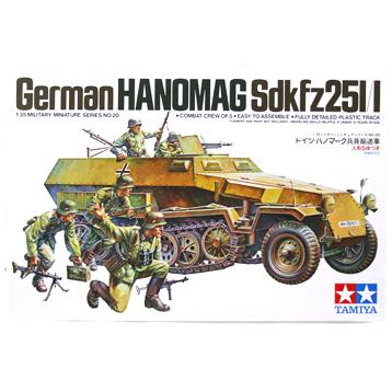 Hanomag Sdkfz251/1 (Scale 1:35)