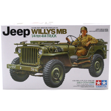 Jeep Willys MB 4x4 Truck (Scale 1:35)