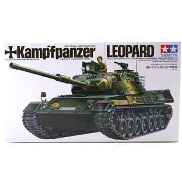 Kampfpanzer Leopard Tank (Scale 1:35)