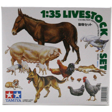 Livestock Set (Scale 1:35)