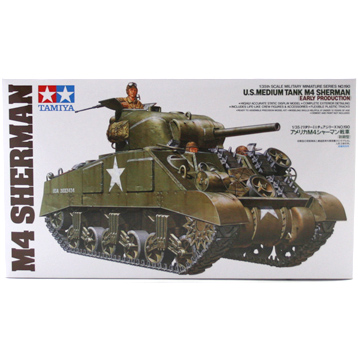 M4 Sherman Tank Early Production (Scale 1:35)