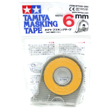 Masking Tape with Dispenser 6mm