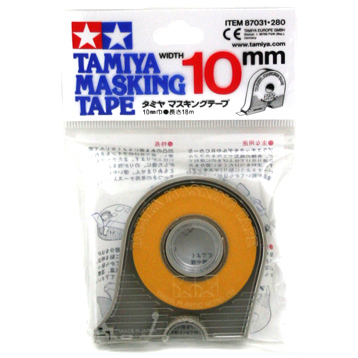Masking Tape with Dispenser 10mm