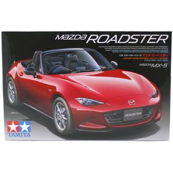 Mazda MX-5 Roadster (Scale 1:24)