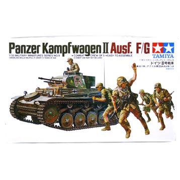 Panzerkampfwagen II Ausf. F/G (Scale 1:35)