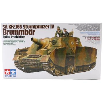 Sd. Kfz.166 Sturmpanzer IV Brumbär (Scale 1:35)