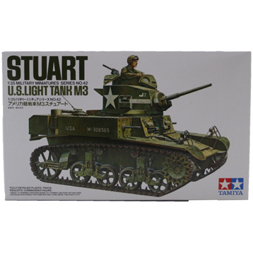 Stuart M3 US Light Tank (Scale 1:35)