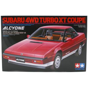 Subaru 4WD Turbo XT Coupe (Scale 1:24)