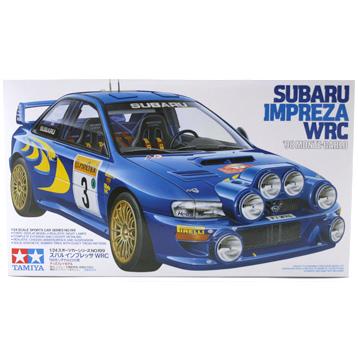 Subaru Impreza WRC '98 Monte Carlo (Scale 1:24)