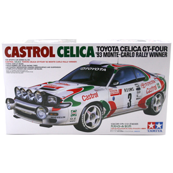 Toyota Celica GT-Four Castrol Rally Winner (Scale 1:24)