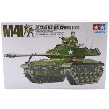 US M41 Walker Bulldog Tank (Scale 1:35)
