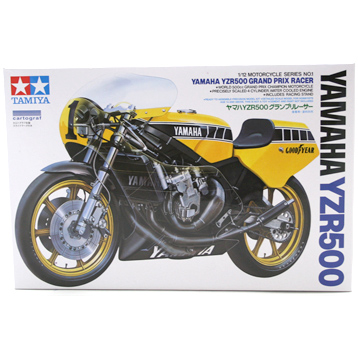 Yamaha YZR500 Grand Prix Racer Motorcycle (Scale 1:12)