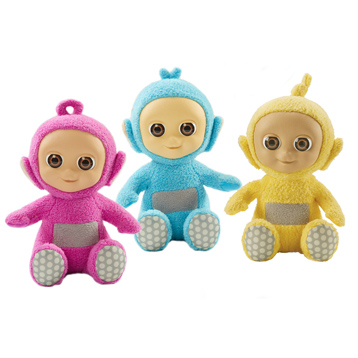 Giggling Tiddlytubbies Soft Toys