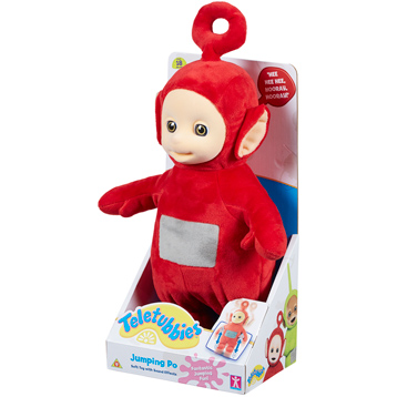 Jumping Po Soft Toy
