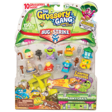 Bug Strike 10 Pack & Crossbow