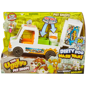 Dirty Dog Wash Van