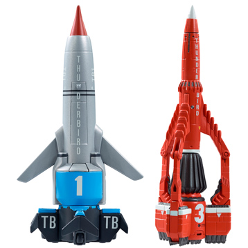 Thunderbirds Vehicles